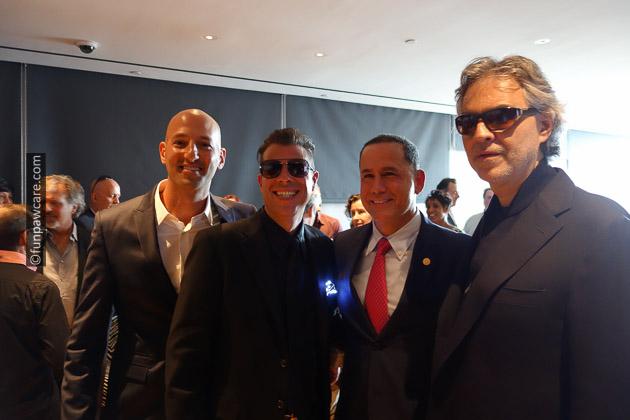 Russell Hartstein, Phillip Levine & Andrea Bocelli