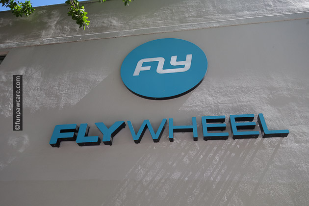 Fly Wheel Miami Sign